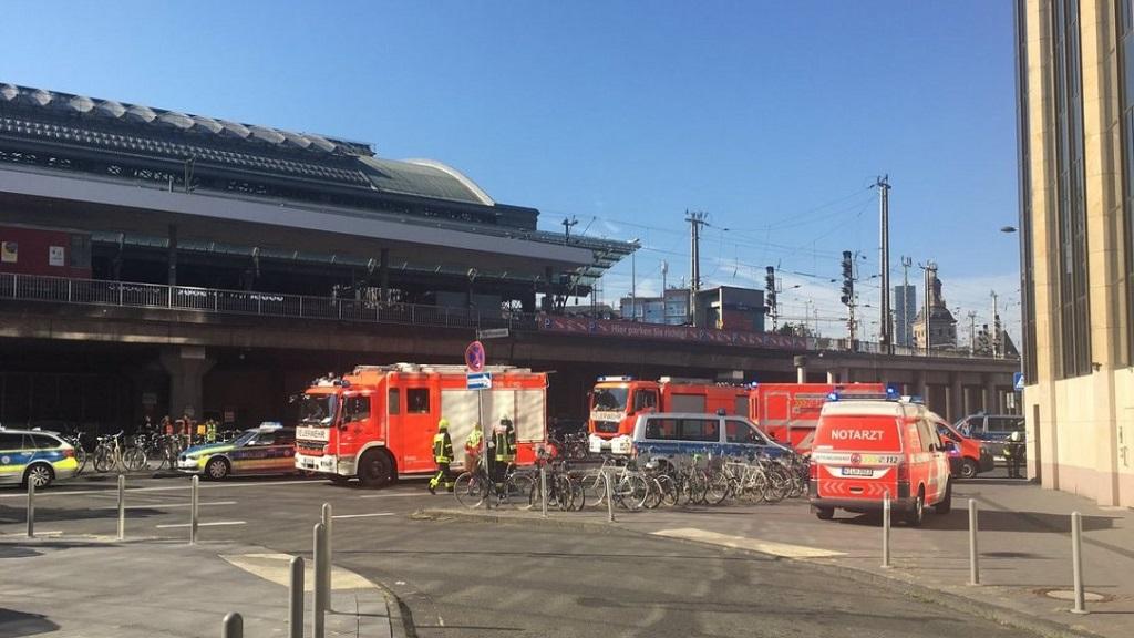 Movilización por toma de rehén en Alemania. Foto de Internet