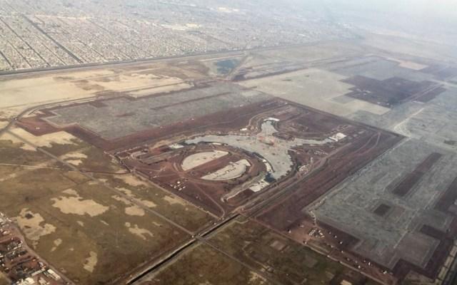 Licitarán obras de rehabilitación en terrenos del NAIM - IATA Construcción del NAIM. Foto de Internet