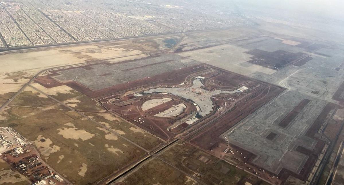 Construcción del NAIM. Foto de Internet