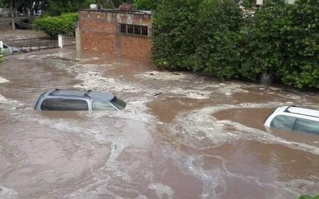 Suman 180 mil damnificados por inundaciones en Nayarit - Foto de @SSalud_mx