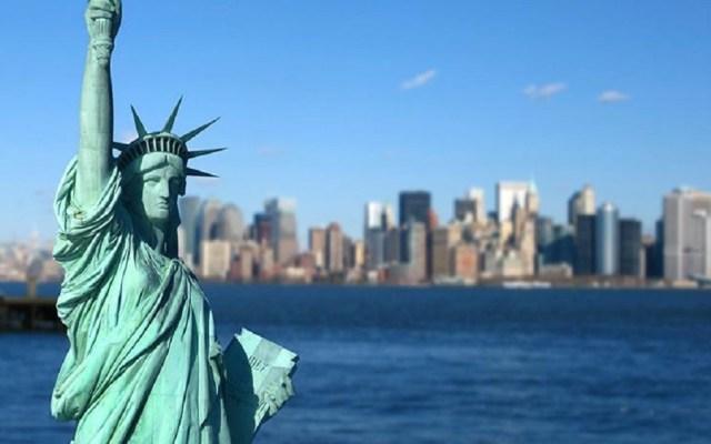 Nueva York vivió su primer fin de semana sin tiroteos desde 1993 - Estatua de la Libertad en Nueva York. Foto de Internet