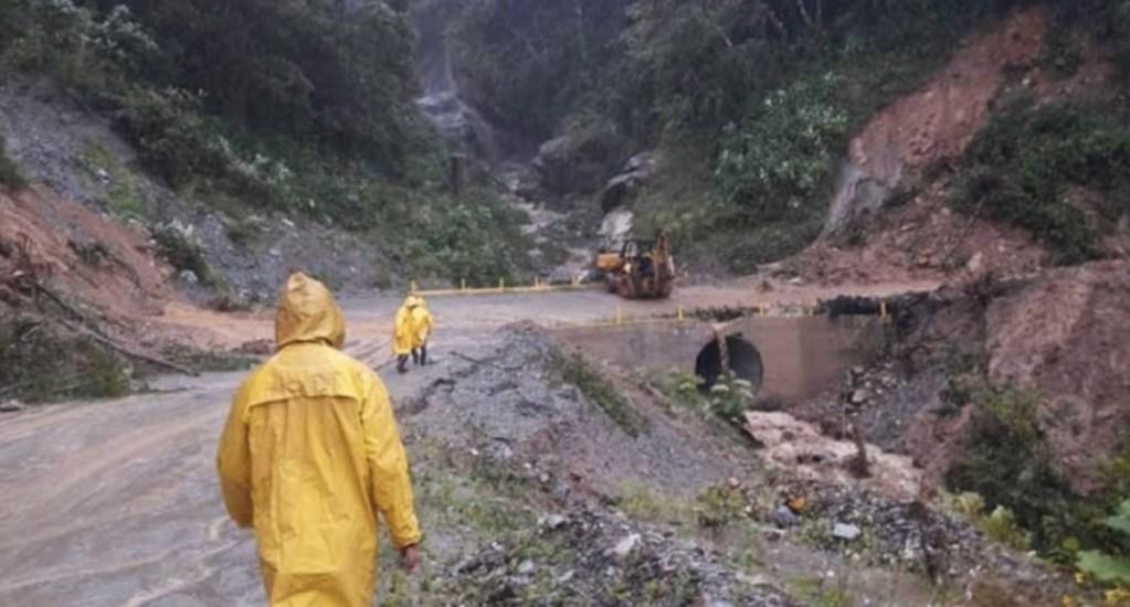 Derrumbe de cerro en Oaxaca deja seis muertos - Protección Civil Oaxaca