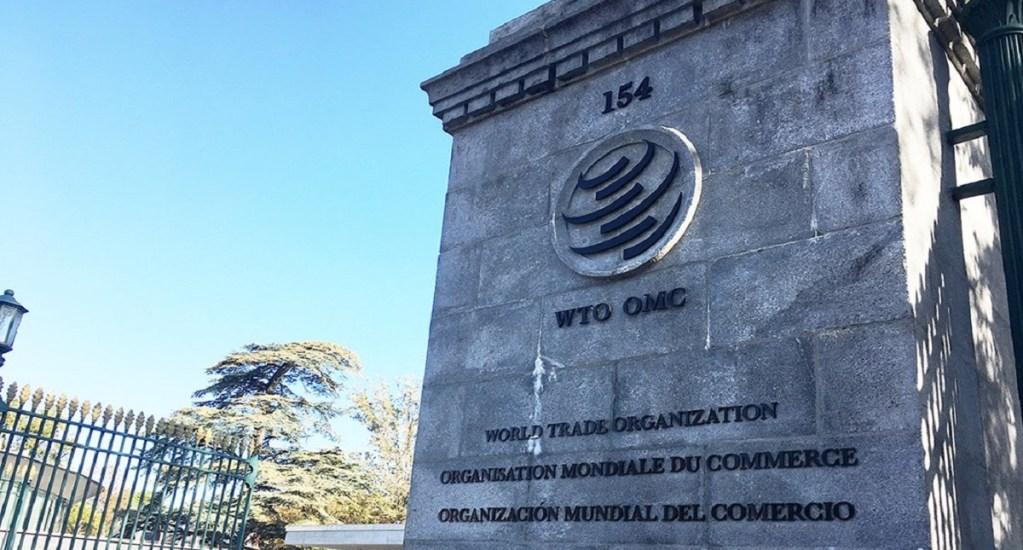 Comercio global cayó un 18.5% en segundo trimestre, según previsiones de la OMC - Oficinas de la OMC. Foto de @OMC_es