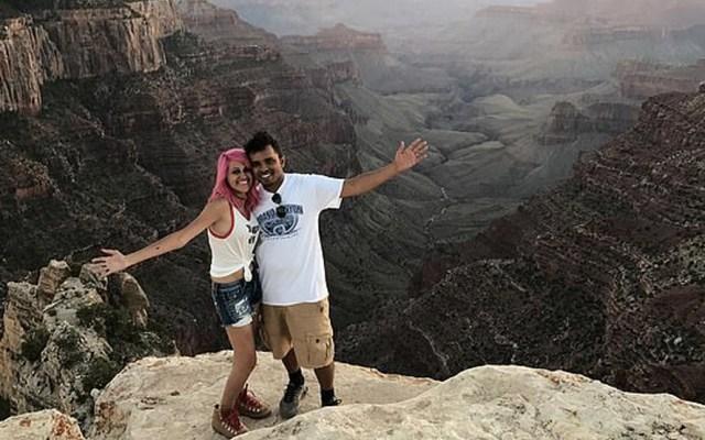 Pareja muere al caer a un abismo por hacerse una selfie en California - Foto de Daily Mail