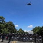 Policía Federal refuerza seguridad ante paso de caravana migrante - Foto de Milenio