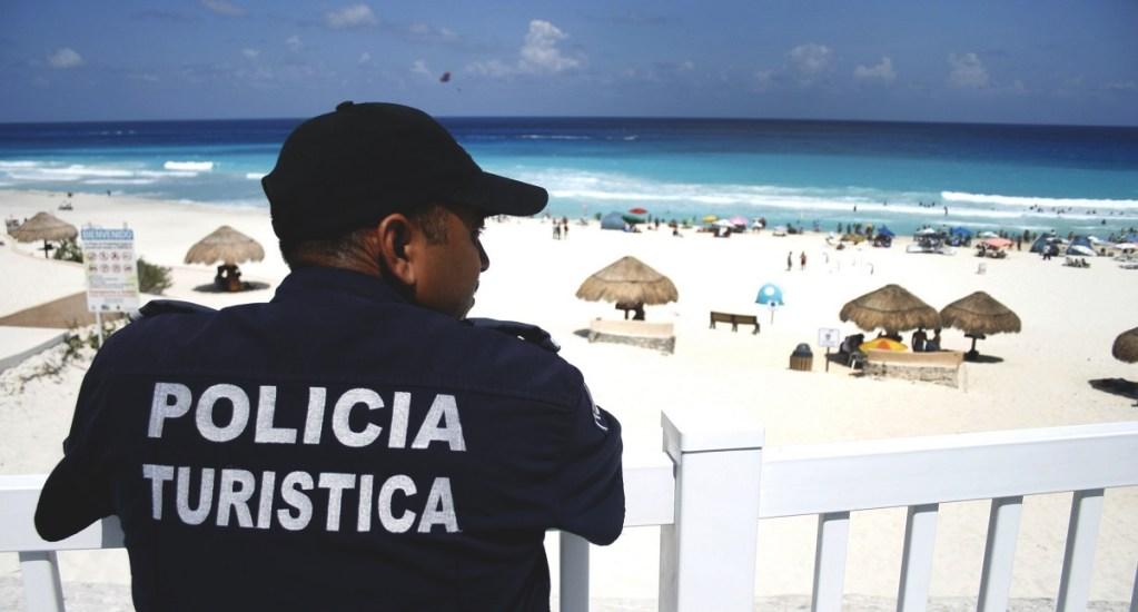 Gobierno entrante prepara blindaje de zonas turísticas - Policía de zonas turísticas. Foto de Internet