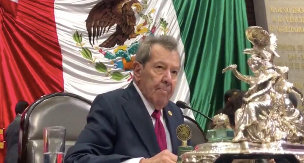 Diputados interponen reclamación por suspensión de ley de salarios - Foto de Twitter Porfirio Muñoz Ledo