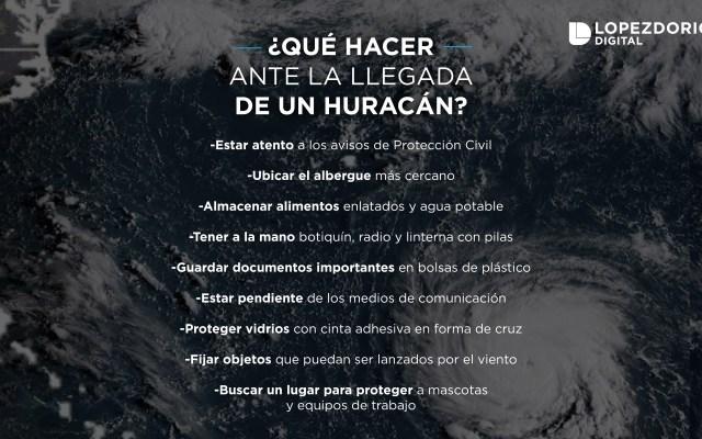 ¿Qué hacer en caso de huracán? - Imagen de López-Dóriga Digital