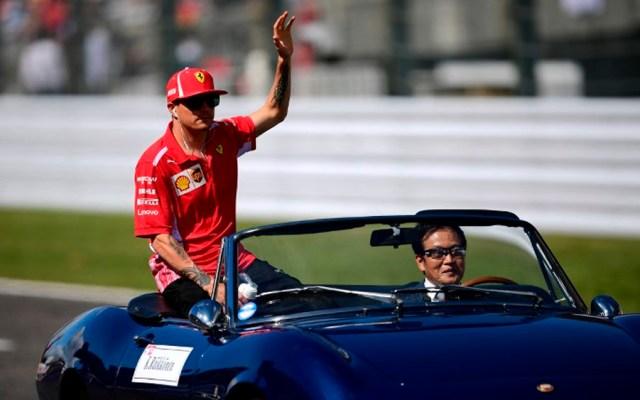 Multan a Raikkonen por chocar contra otro coche en Suiza - Foto de AFP