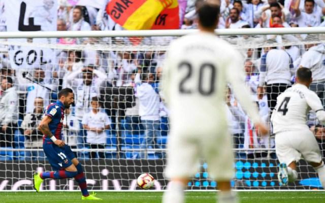 El Real Madrid agrava su crisis con caída ante el Levante - El Real Madrid agrava su crisis con caída ante el Levante
