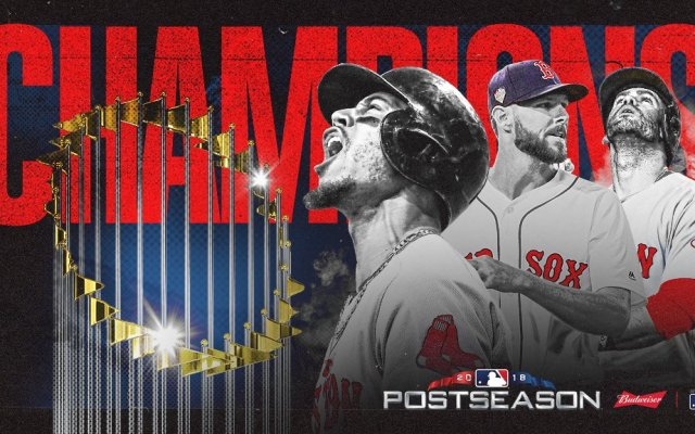 Red Sox, campeones de la Serie Mundial - Foto de @MLB