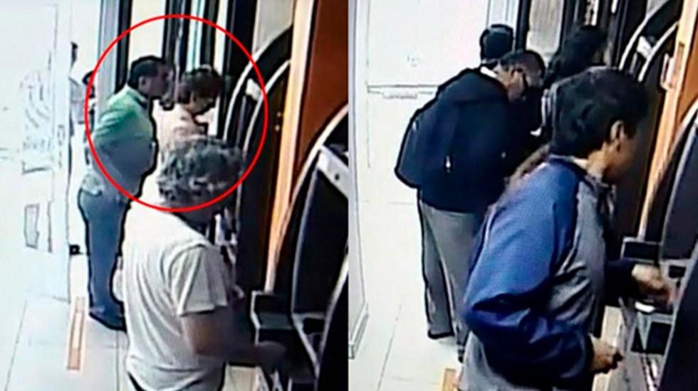 #Video Modus operandi para robar tarjetas en cajeros