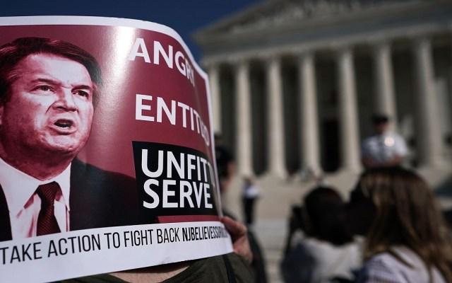 Senado de EE.UU. votará hoy avance de Kavanaugh a la Corte Suprema - Este viernes el Senado dará penúltimo paso en votación Kavanaugh. Foto de AFP / Getty Images
