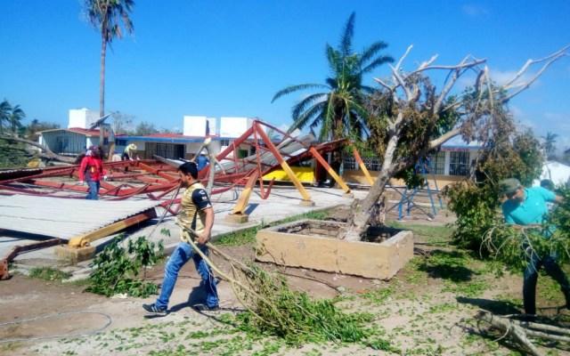 A clases este lunes en Sinaloa tras el paso del huracán Willa - Foto de Noroeste