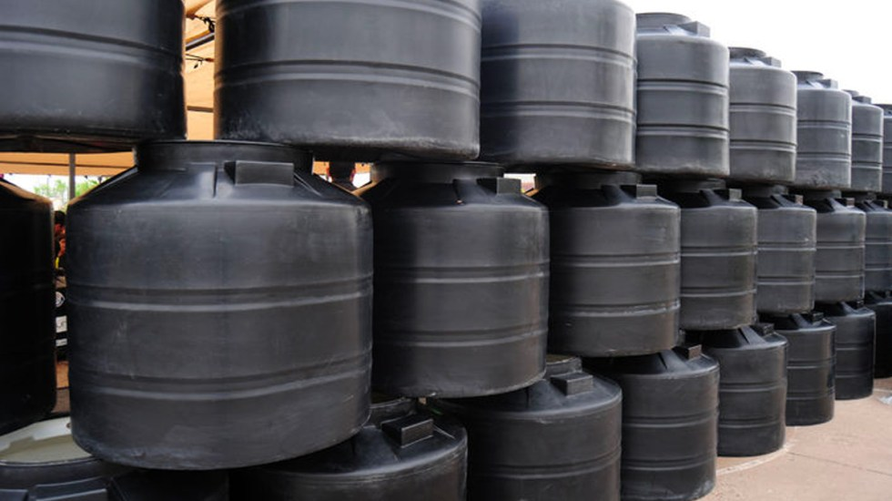 Distribuirán 5 mil tinacos públicos en la CDMX por corte de agua - Foto de Internet