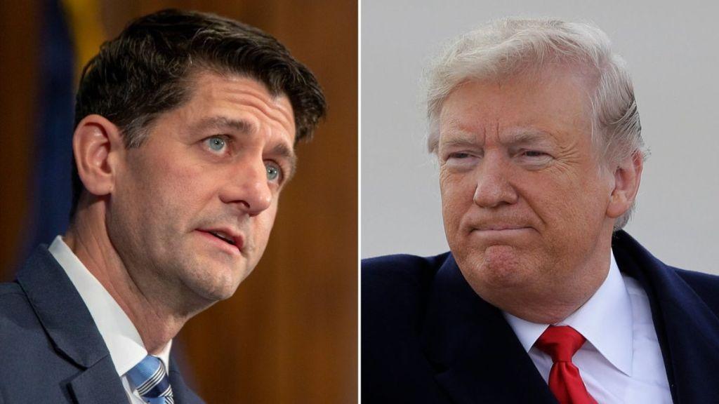 Donald Trump arremete contra Paul Ryan por derecho a la ciudadanía - Trump atacó a Paul Ryan en la discusión sobre el derecho a la ciudadanía