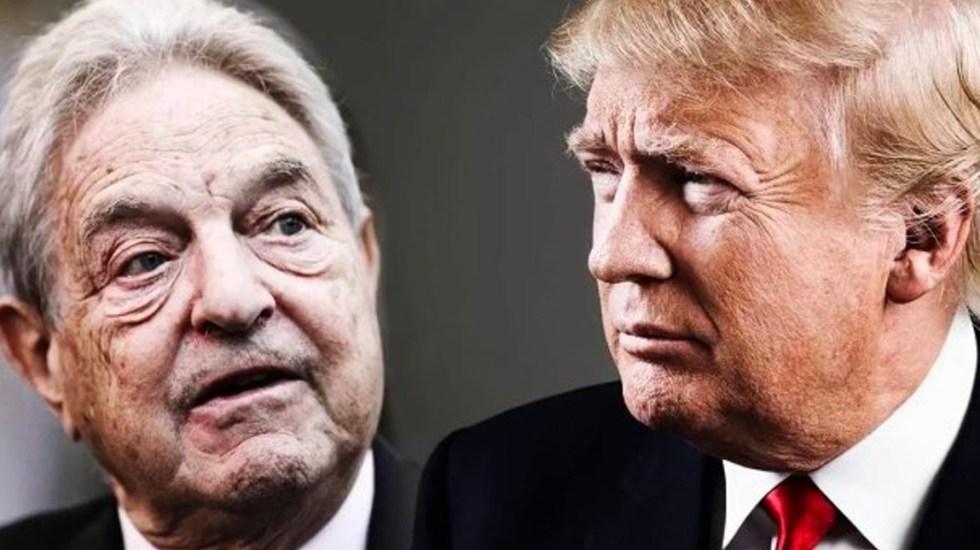 Trump insinúa que Soros estaría financiando caravana de migrantes - Foto de Internet
