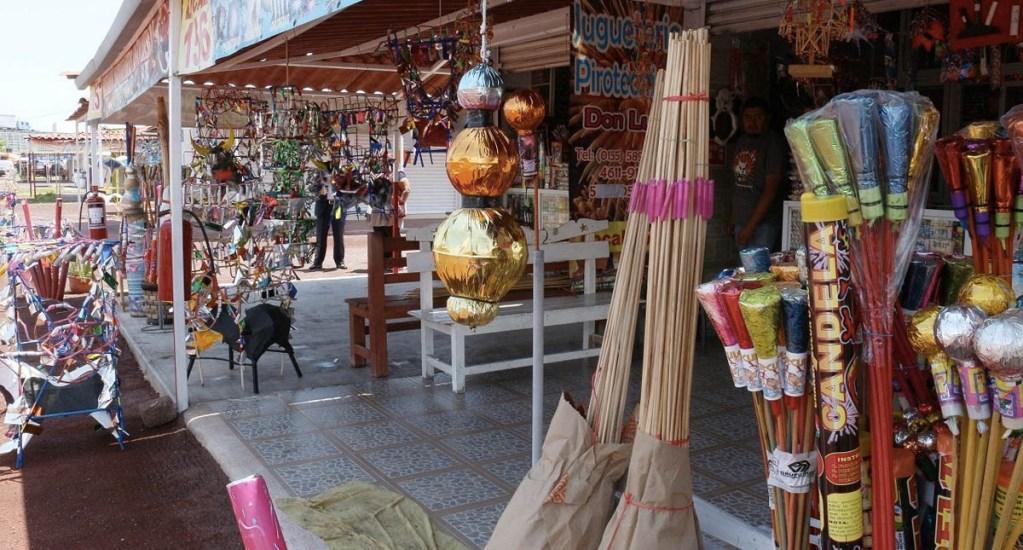Mercado de San Pablito obtiene permiso para venta de pirotecnia. Noticias en tiempo real