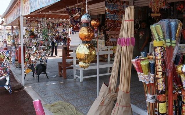 Mercado de San Pablito obtiene permiso para venta de pirotecnia - Mercado de San Pablito obtiene permiso para venta de pirotecnia