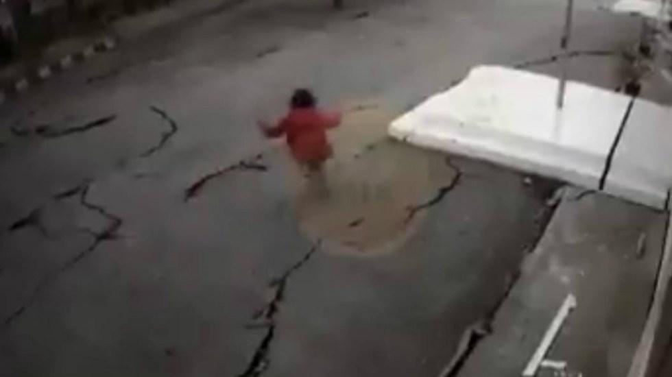#Video Dan a conocer imágenes del terremoto que azotó a Indonesia - Indonesia