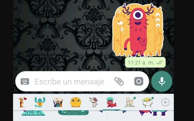 Ya están disponibles los stickers de WhatsApp - Ya están disponibles los stickers de WhatsApp