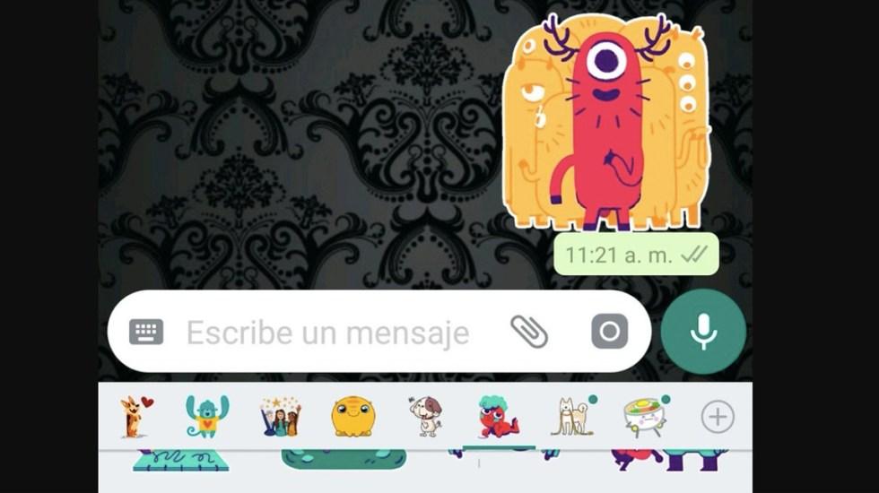 Ya están disponibles los stickers de WhatsApp - Ya están disponibles los stickers de WhatsApp
