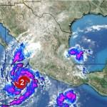 """""""Willa"""" se intensifica a huracán categoría 2 - Willa se intensifica a huracán categoría 2. Foto de @collinabc13"""