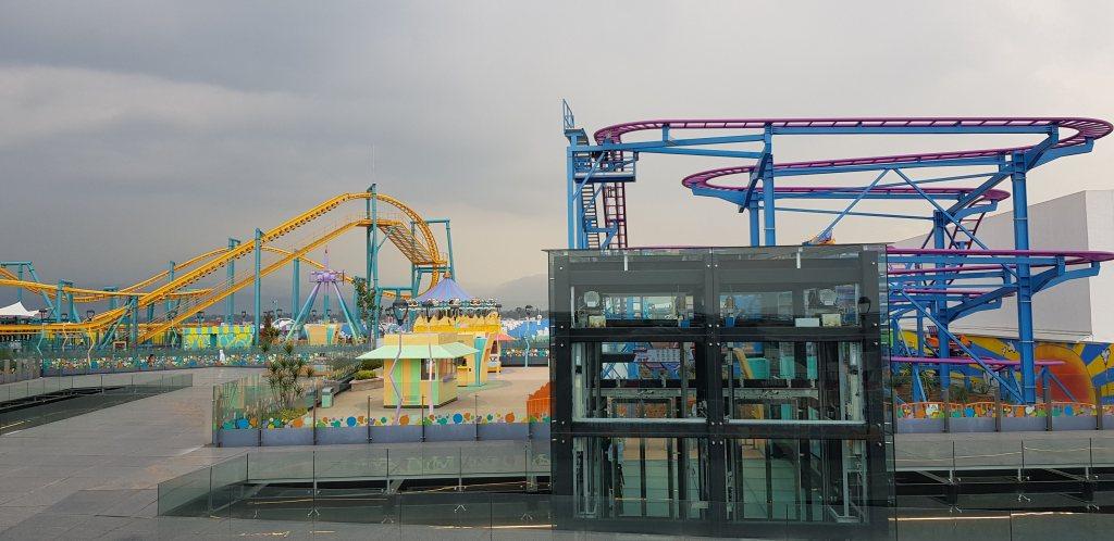 Posponen apertura de parque de diversiones en azotea de centro comercial - Foto de Carlos Tomasini