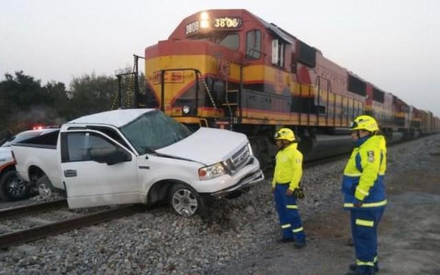 Accidentes ferroviarios dejan un muerto y dos heridos en Nuevo León - Foto de Cambio Press
