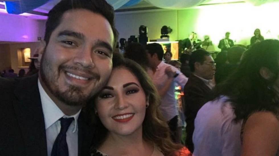 Imputan homicidio a exlíder priista en Oaxaca - Alfredo Delgado y Silvia Ivanna Mingo. Foto de Milenio