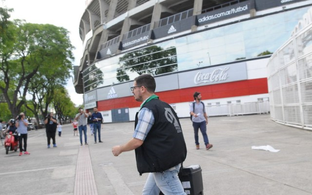 Incautan 320 entradas en blanco para final de la Libertadores - allanamiento estadio monumental river plate