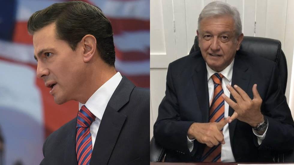 López Obrador supera a Peña Nieto en cobertura mediática - Foto de Internet