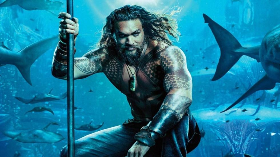 """""""Aquaman"""" se alza en la cima de la taquilla del fin de semana - Aquaman es la película más taquillera del fin de semana"""