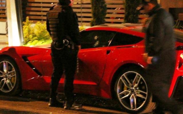 Asesinan a conductor de automóvil de lujo en la Narvarte - Foto de Milenio