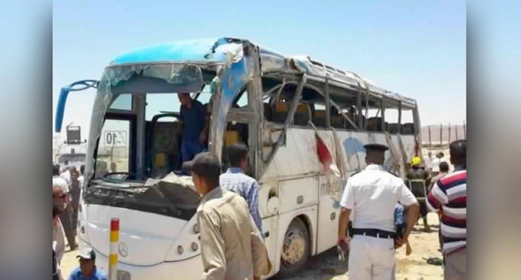 Estado Islámico reivindica ataque contra cristianos coptos en Egipto - Foto de Canal1