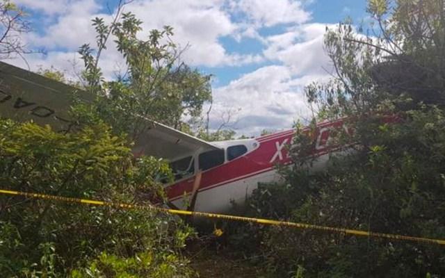 Caída de avión pequeño deja tres heridos en Chiapas - Foto de PC Chiapas