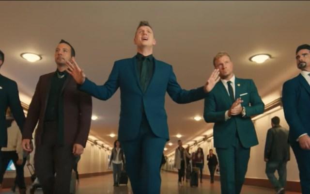 Backstreet Boys anuncian gira mundial y nuevo disco - Captura de pantalla
