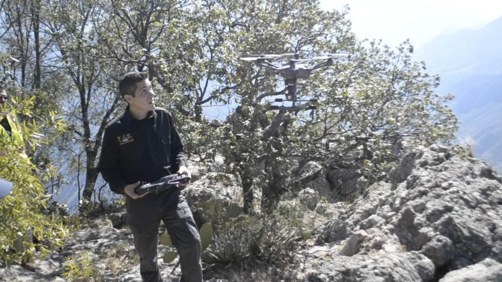 Buscan con drones a estadounidense extraviado en la Sierra Tarahumara - Foto de Gobierno de Chihuahua