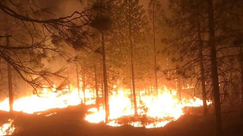 Camp Fire al norte de California será contenido hasta fin de mes - Camp Fire al norte de California. Foto de @CALFIRE_ButteCo