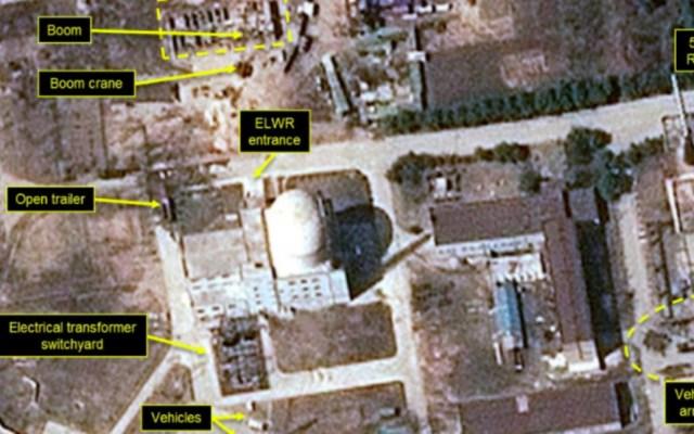 OIEA detecta actividad en central nuclear de Corea del Norte - actividad planta nuclear yongbyon