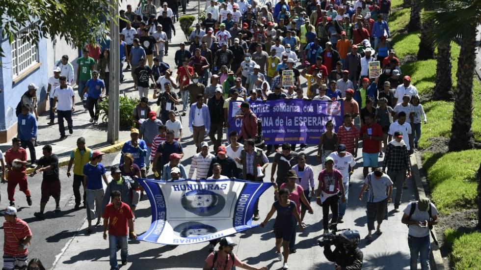 Migrantes en México piden autobuses a la ONU para llegar a EE.UU. - Foto de AFP