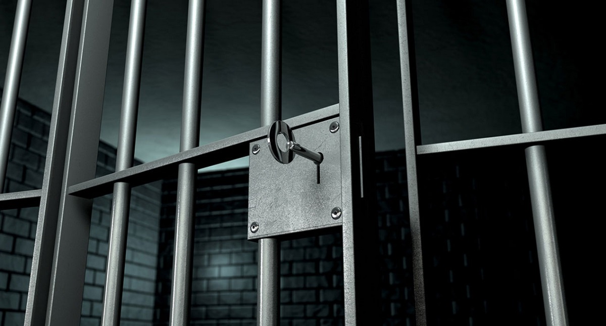 Ir a la cárcel. Foto de Internet