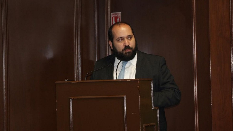 Muere Comisionado del INAI tras sufrir infarto al corazón - Carlos Bonnin, comisionado del INAI. Foto de @INAImexico