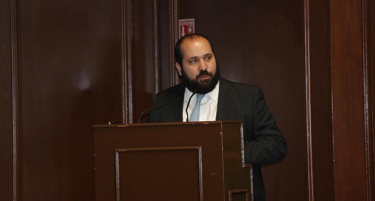 Carlos Bonnin, comisionado del INAI. Foto de @INAImexico