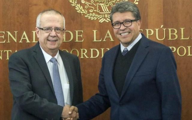 Urzúa y Monreal acuerdan analizar propuestas en materia económica - Foto de Senado de la República
