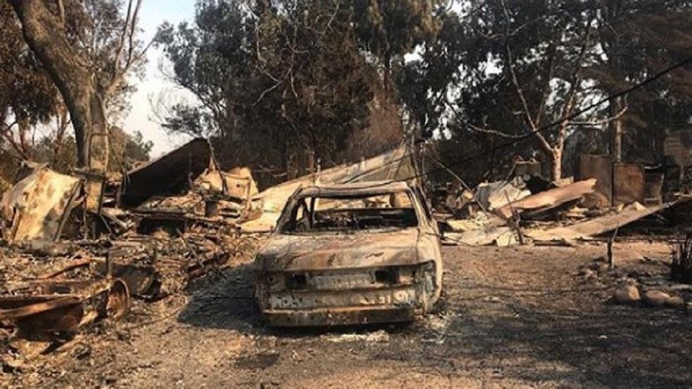 Las celebridades que perdieron su casa por incendios en California - Casa de Shannen Doherty consumida por las llamas en Malibu. Foto de Instagram