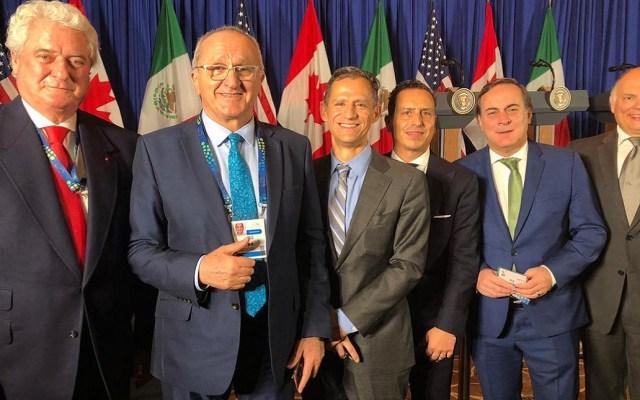 Iniciativa privada muestra descontento en firma del T-MEC - CCE en Cumbre del G-20 por firma del T-MEC. Foto de @cceoficialmx