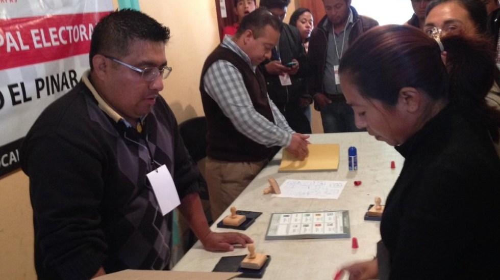 Distribuyen boletas para elección extraordinaria en Chiapas - Foto de @IEPCChiapas