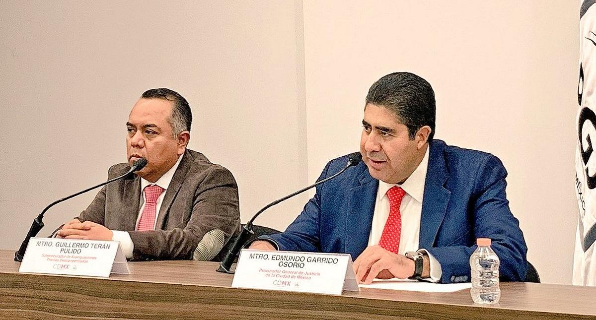 Conferencia de prensa de la PGJ-CDMX sobre accidente en la México-Toluca. Foto de @PGJCDMX