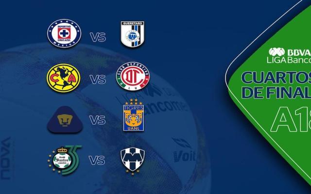 Así se jugará la liguilla del Apertura 2018 - Foto de Liga MX.